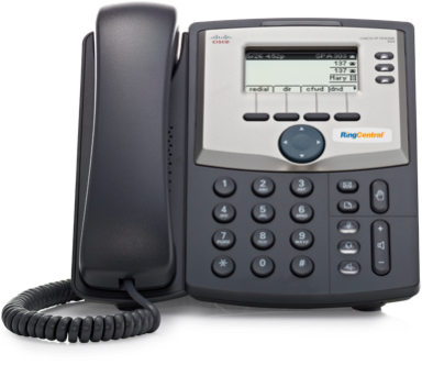 A full-featured IP phone with speakerphone, caller ID, call hold, mute, and more. Affordable, reliable, and easy-to-use.