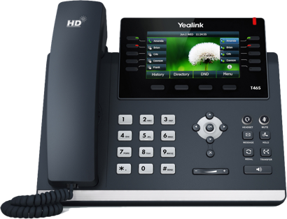 An advanced, state-of-the-art business phone ideal for the busy corporate executive and working professional. OPUS codec support guarantees high-quality (HD) voice and superior sound quality. Features include USB port support for Bluetooth and Wi-Fi, Gigabit ethernet, presence, a high-resolution color display, and more.